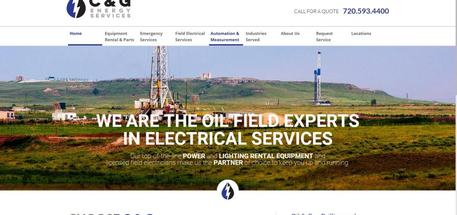 Field Electricians, Equipment Rental