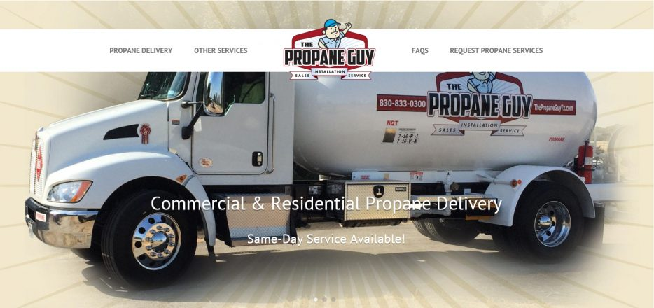 Propane Delivery Services, Blanco, TX